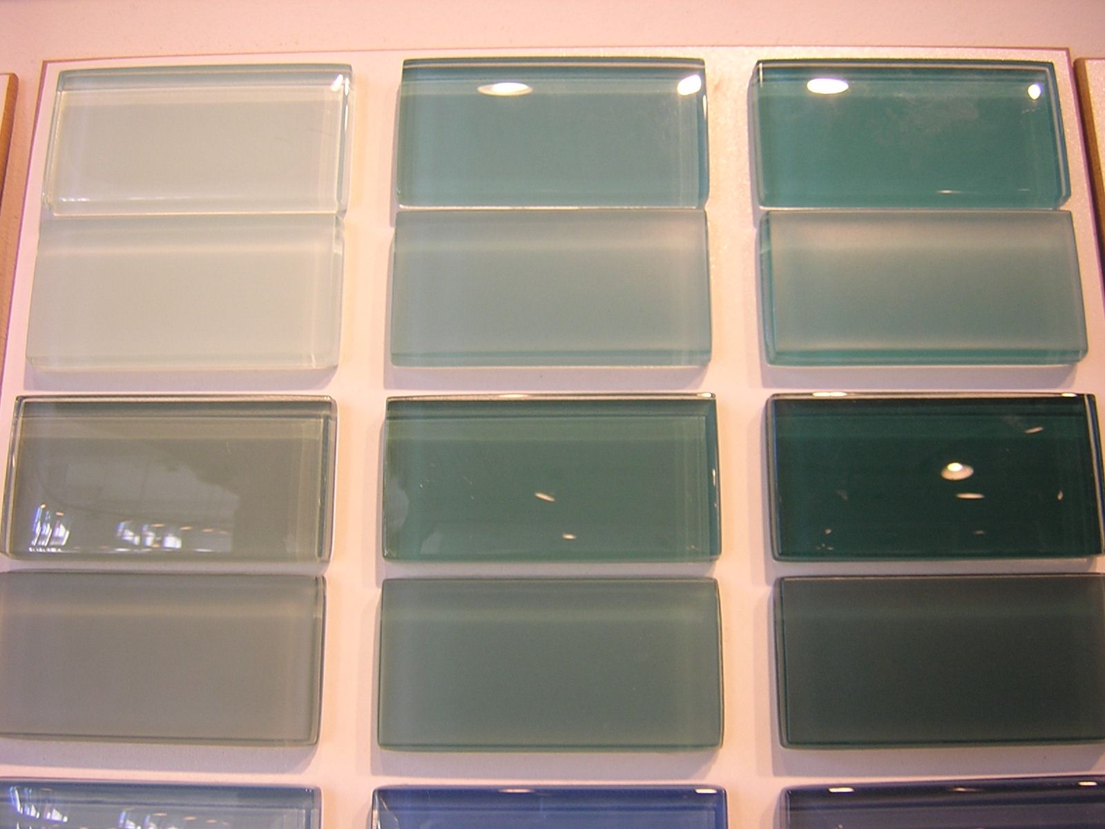 backsplash ideas | recycled glass tile backsplash | home decor ...