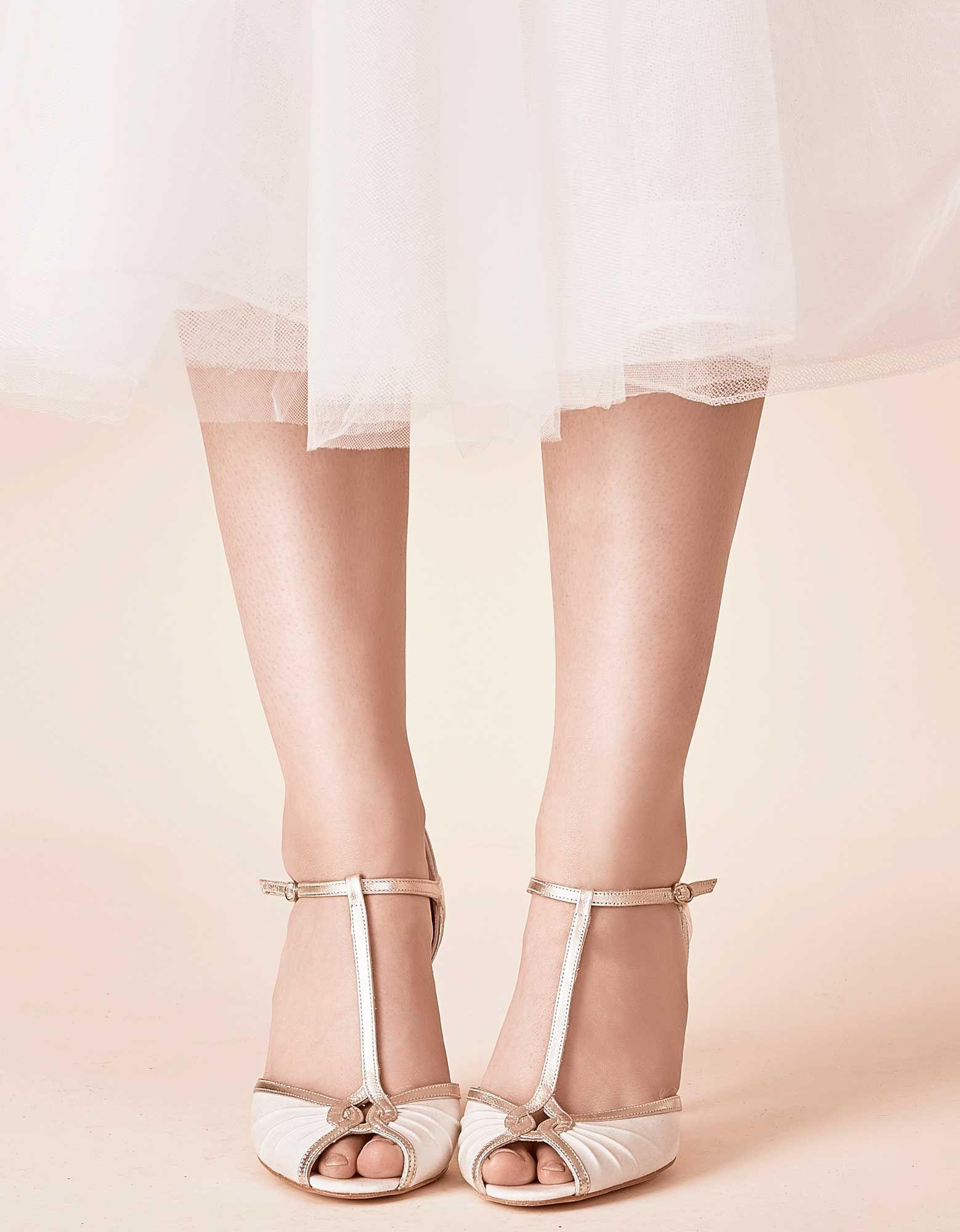 Mimi Vintage Style Dresses Wedding Shoes Rachel Simpson