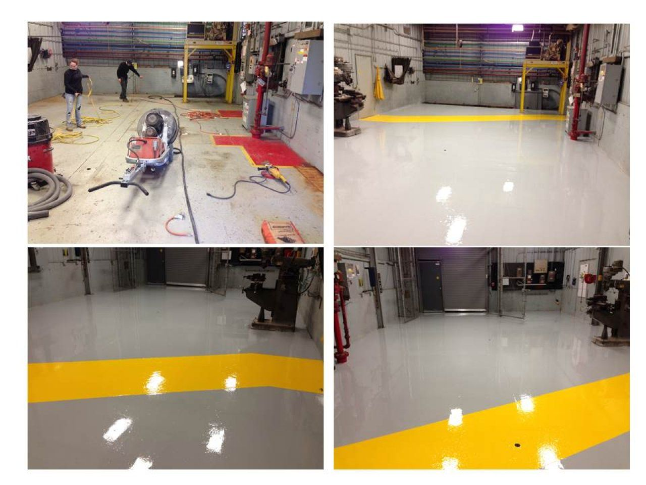 Resinous Industrial Flooring and Resurfacing Cleveland