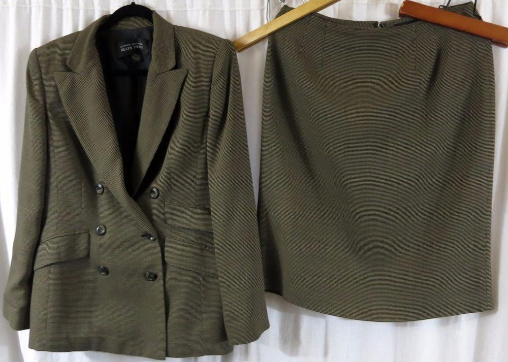 Linda Allard Ellen Tracy 12 Skirt Suit #LindaAllardEllenTracy #SkirtSuit