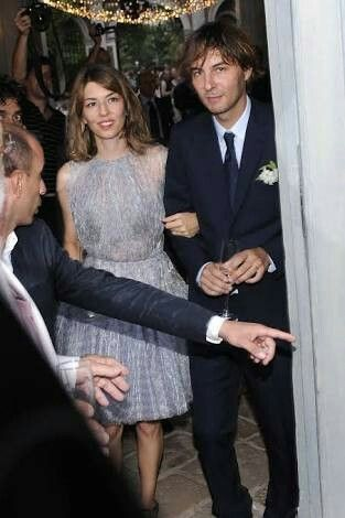 My bridal inspiration - Sofia Coppola on her wedding day - beautiful, relaxed and natural.