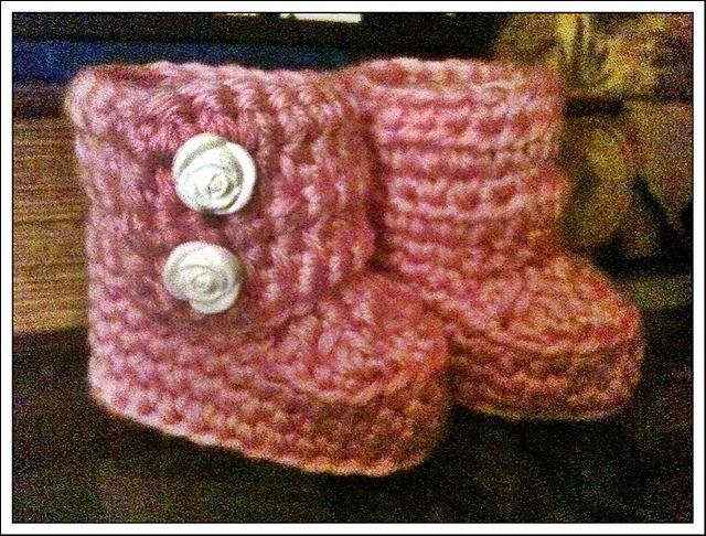 Patr 243 N A Crochet Botitas Ugg En Espa 241 Ol Patrones De