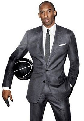 Kobe Bryant In A Suit A Very Very Crisp Tailor Fitted