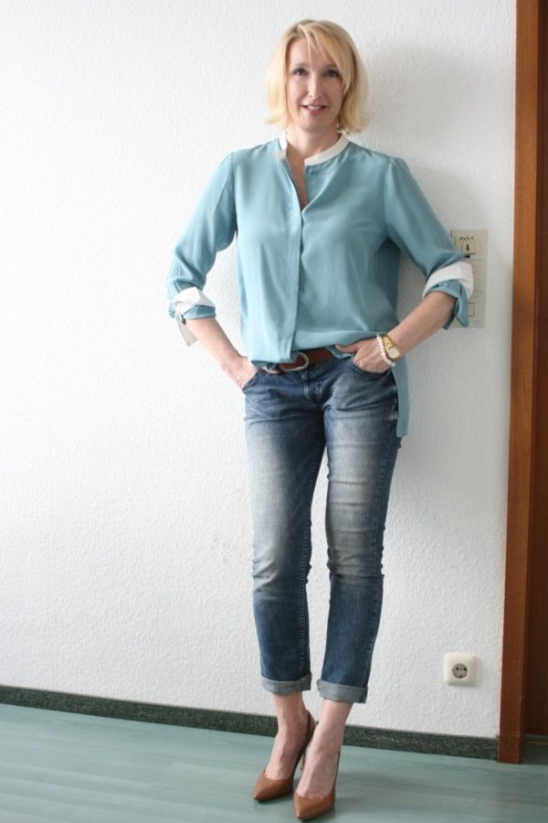 100 Casual Dress For 40 Year Old Woman 40s Fashion For