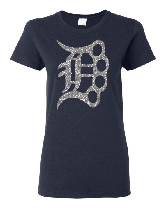 Sparkle detroit brass knuckle d esign custom t shirt for Custom t shirts detroit