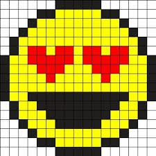 Pixel Art Facile Smiley