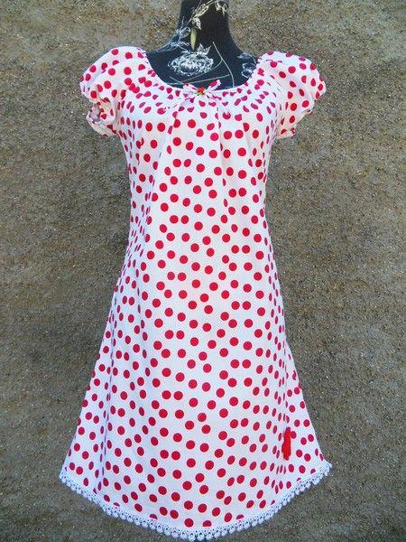 c46fdd01bc0 Tunika Kleid Hänger Punkte von Zellmann Fashion auf DaWanda.com