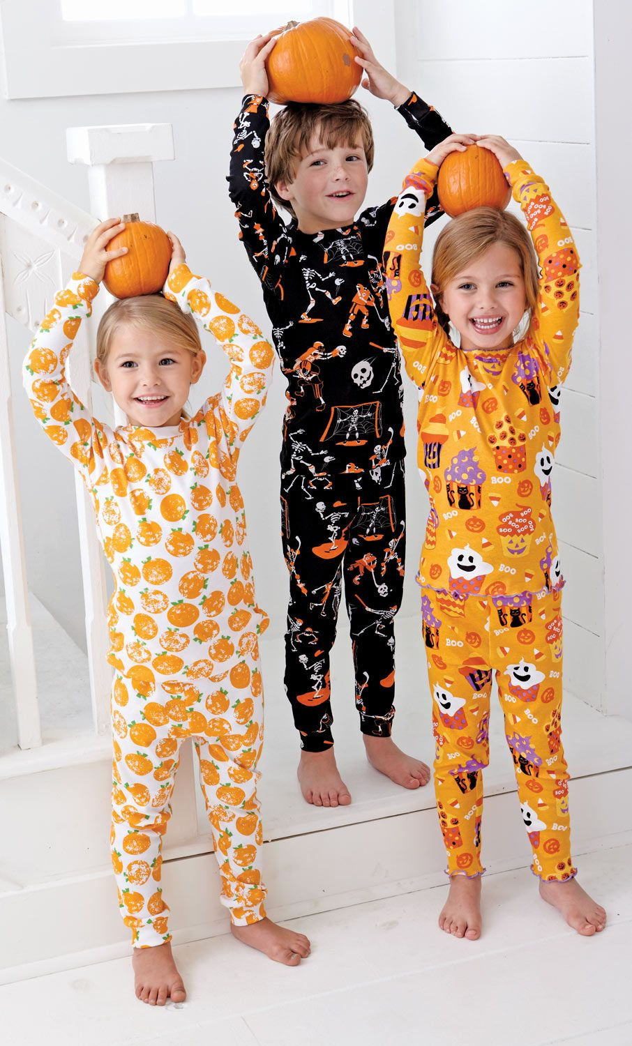 Adorable Halloween pajamas. I couldn't resist these