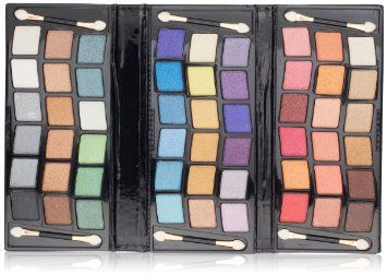 SHANY 2011 All In One Makeup Set, Shimmer Blend, Leather Case, Limited,: Beauty