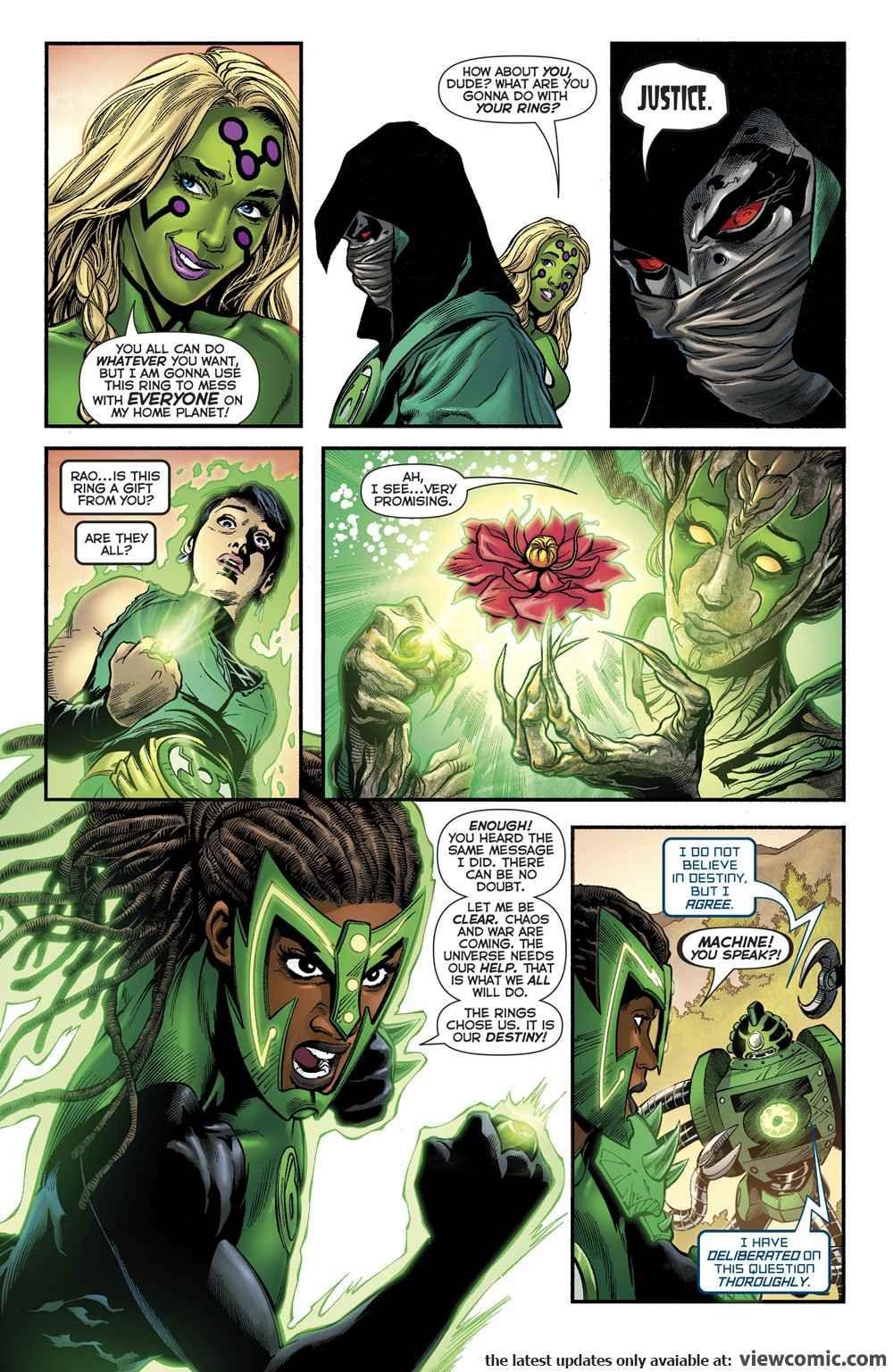Green Lantern Comics Online