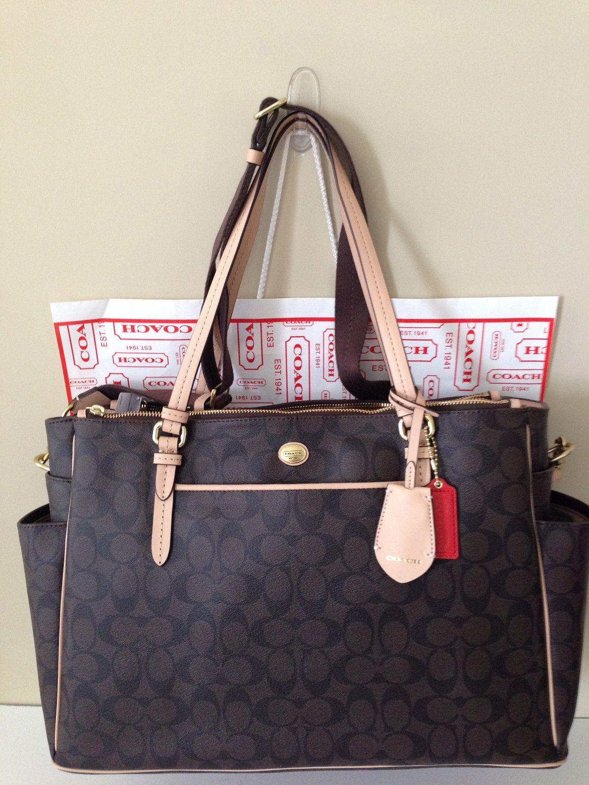 9645499e Peyton Diaper Bag- coach | Baby | Bags, Baby diaper bags, Tote bag