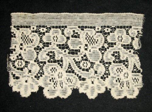 Quaker Lace sample. Kensington, Philadelphia, PA. Early 20th century