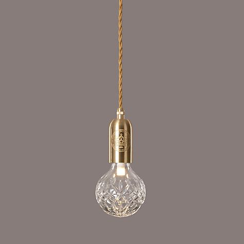 lee broom clear crystal bulb and pendant | pendants, crystals and, Wohnzimmer dekoo