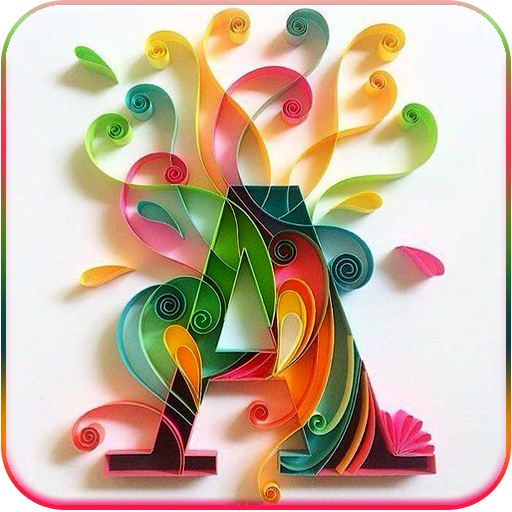 Download Letter Wallpaper Stylish Alphabets, Character