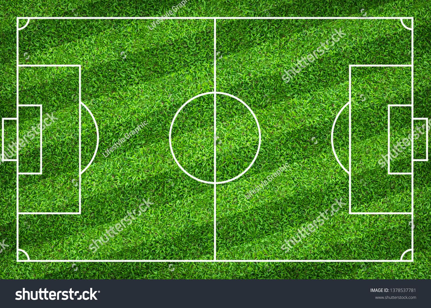 Football Field Or Soccer Field For Background Green Lawn Court For Create Sport Game Ad Affiliate Background Green So Soccer Field Football Field Field