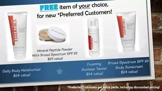 FREEBIE with purchase of $80 or more as a preferred customer with 10% off & FREE shipping. September 1-7 only!  http://www.lookgr8.myrandf.com