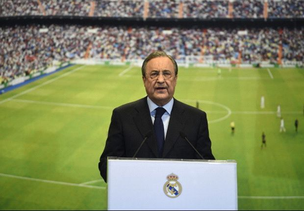 Real Madrid will be active until deadline day,says Florentino Perez
