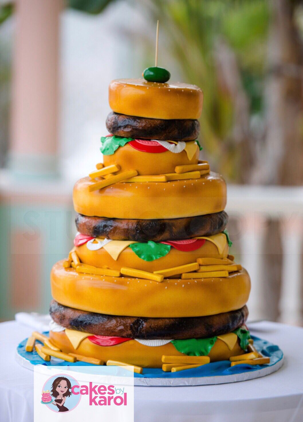 Cheeseburger in paradise cake specialty cakes burger