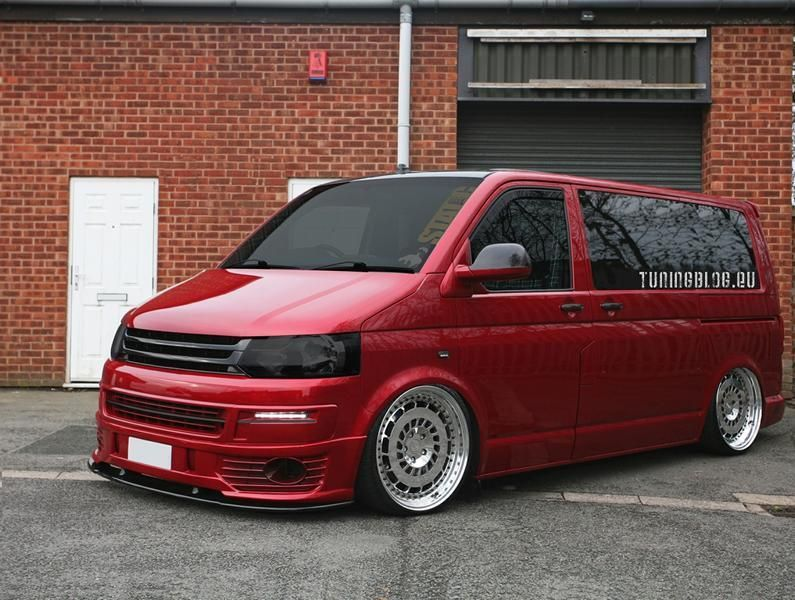 slammed vw t5 multivan tuning bus 1 photo. Black Bedroom Furniture Sets. Home Design Ideas