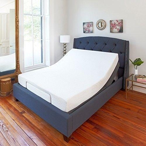 Adjustable Bed Base Kit King Size Electric Massage Wireless Remote ...