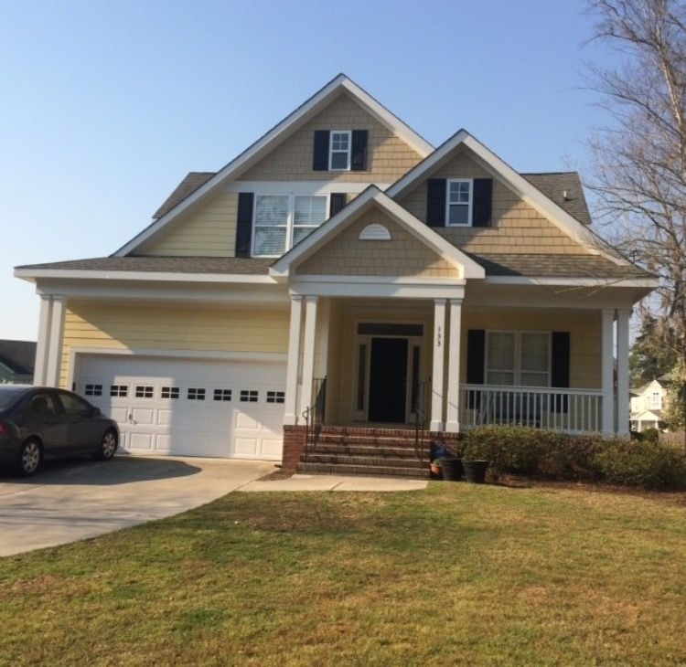 One Car Garage With Lap Siding 69471am: James Hardie ColorPlus, Including Straight Shake, Lap