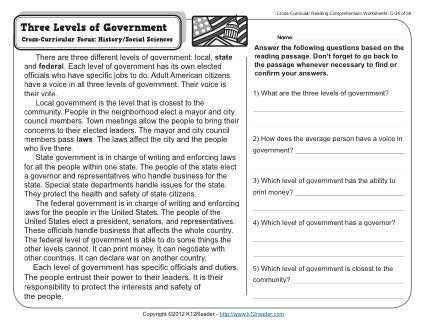 Three Levels Of Government With Images Levels Of Government