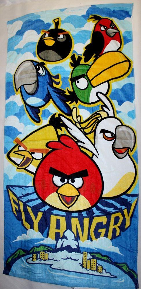 Angry Birds törölköző  1874c15057