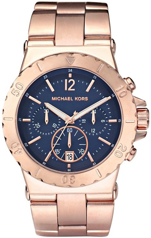 Michael Kors Watch , Michael Kors Women's MK5410 Bel Air Chronograph Blue Dial Watch...$197.93