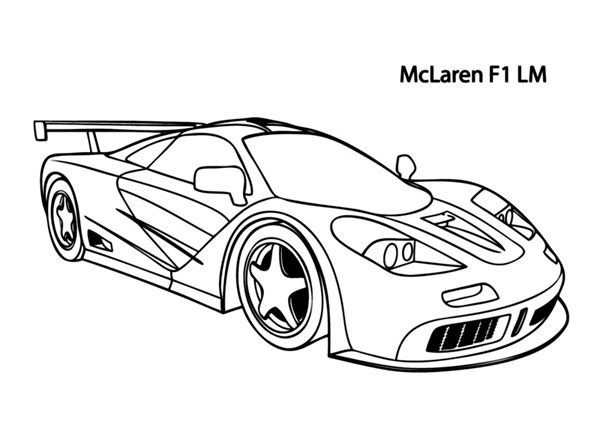 Two Car Track Racing Coloring Page Race Car Car Coloring Pages