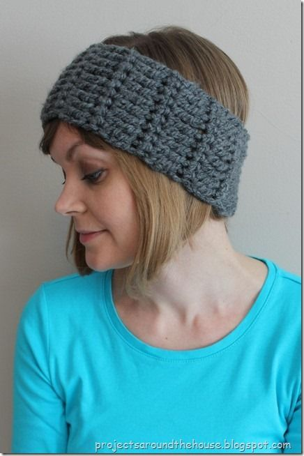 Quick And Chunky Crochet Ear Warmer Pattern Knitting And