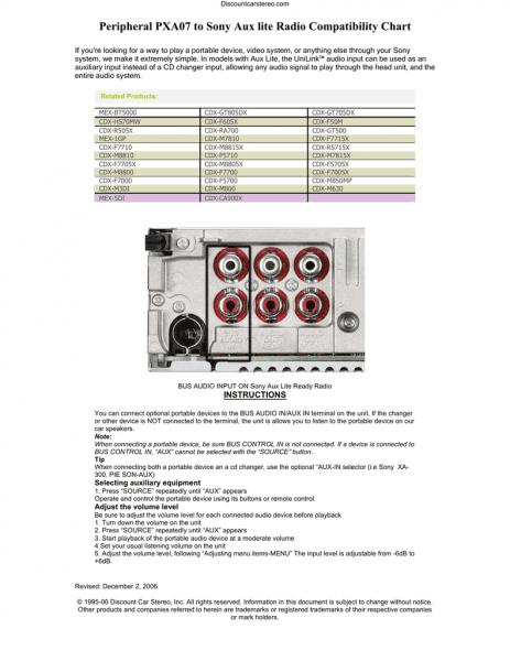 sony cdx ra700 wiring diagram in 2020  sony diagram wire