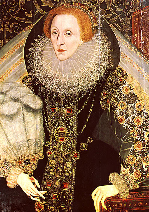 1585 90 Elizabeth I Of England R1558 1603 Attr To John Bettes The Younger Hever Castle Kent Elizabeth I Tudor History Elizabethan Era