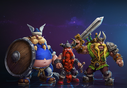 [Heroes of the Storm] Novo Herói: Os Vikings Perdidos
