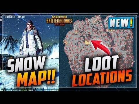 Pubg Vikendi Snow Map Full Details Loot Areas And Location Names