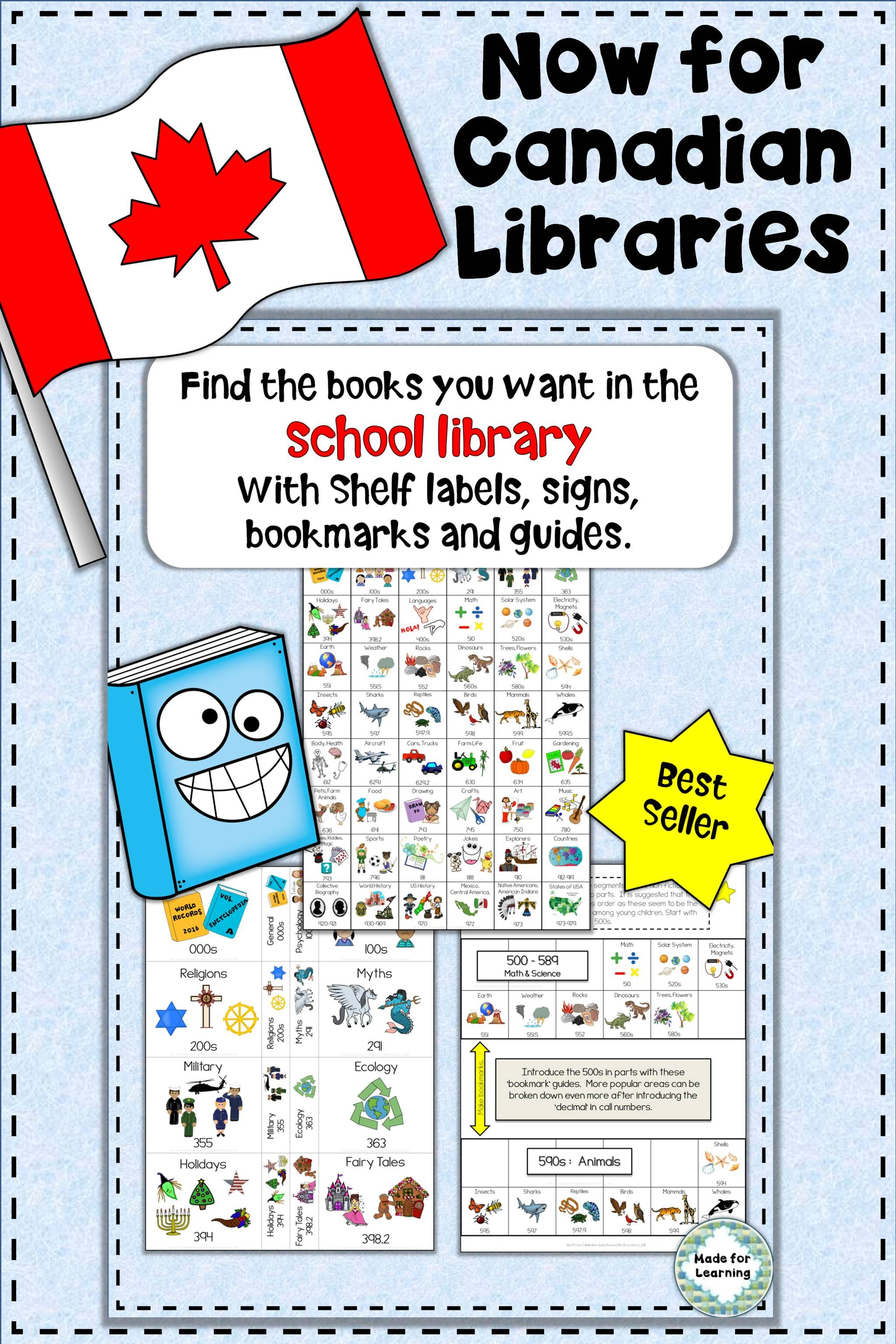 Dewey Decimal Call Number Guide For The Library For Canada