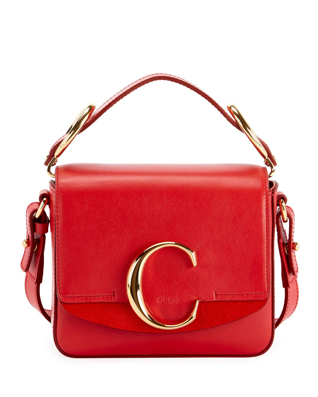 87cb346053a Chloé C Mini Shiny Leather Shoulder Bag in 2019 | We Love Fashion ...