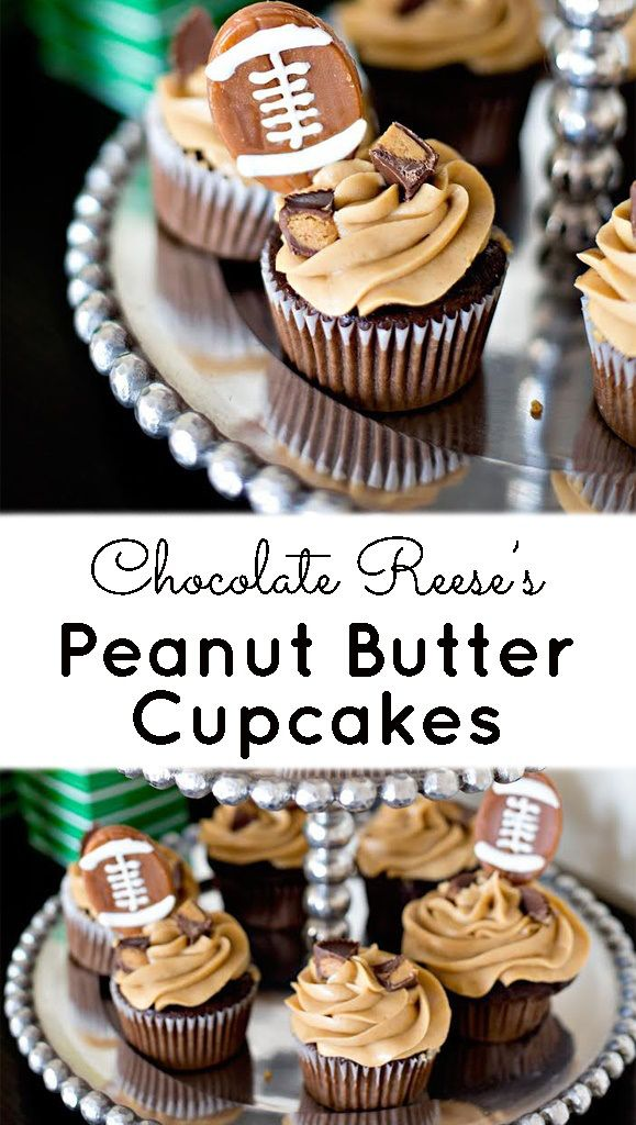 Chocolate Reese S Peanut Butter Cupcakes Recipe Reeses Peanut
