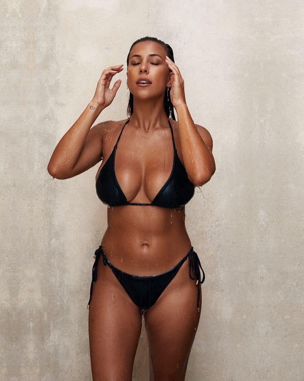 Hübsche Frau Bikini