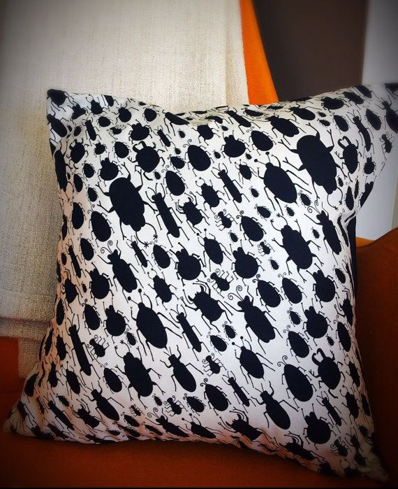 Creepy Crawly Bug Pillow Case Pillows, Pillow cases, Bed