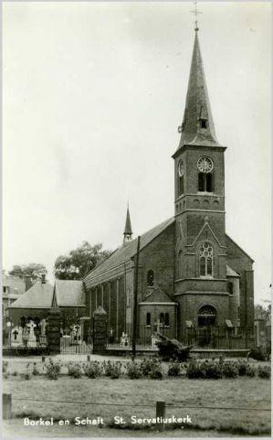 Borkel en Schaft - Voor hun samenvoeging in 1810 behoorden Borkel en Schaft ieder bij een andere gemeente. Borkel ressorteerde voor de veren...