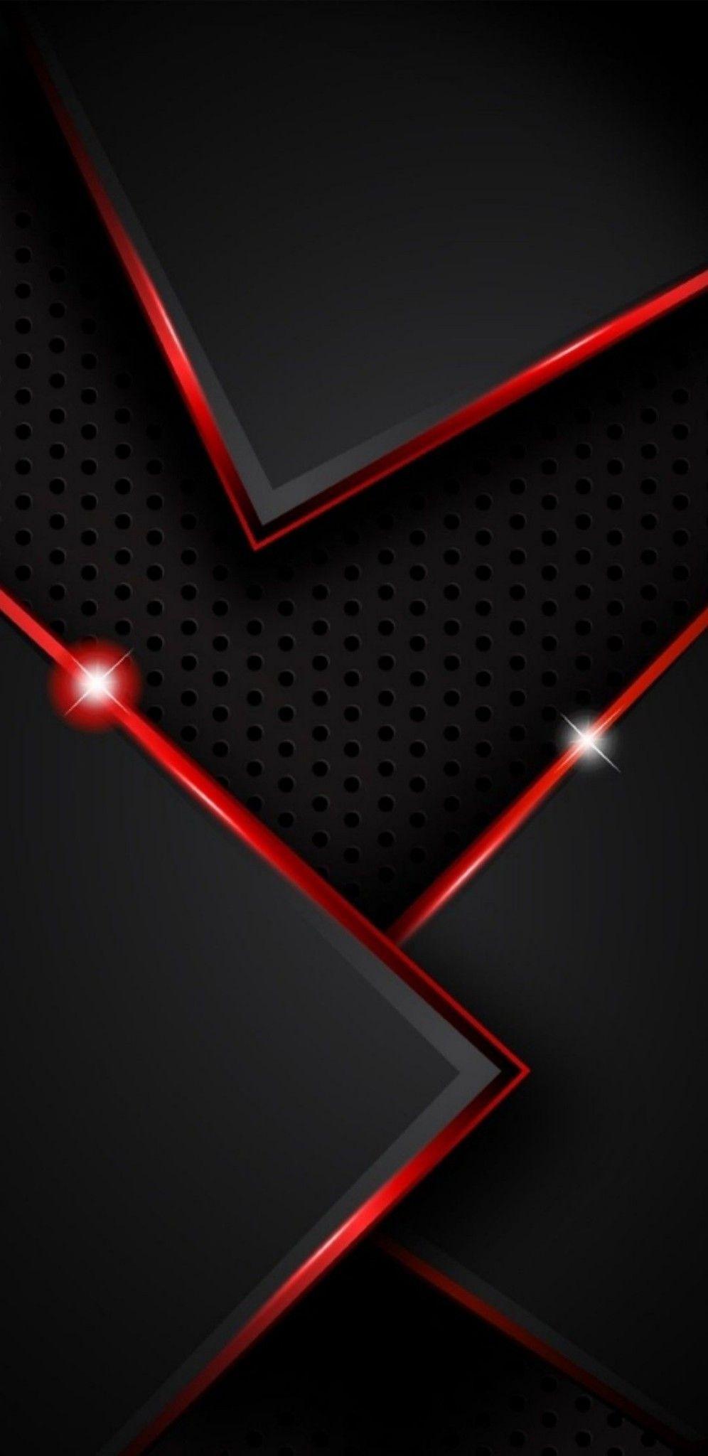 Samsung Wallpaper Red Hintergrundbild Tapete In 2020 Red And Black Wallpaper Red Colour Wallpaper Black Phone Wallpaper
