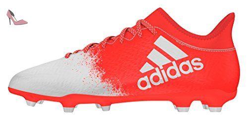 X 16.2 FG, Chaussures de Foot Homme, Plateado (Plamet/Negbas/Rojsol), 46 EUadidas