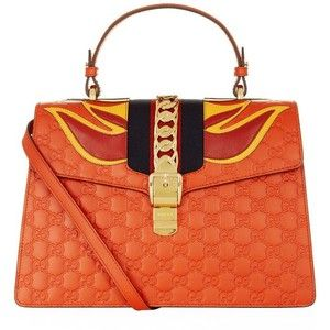 Gucci Sylvie Flame Shoulder Bag