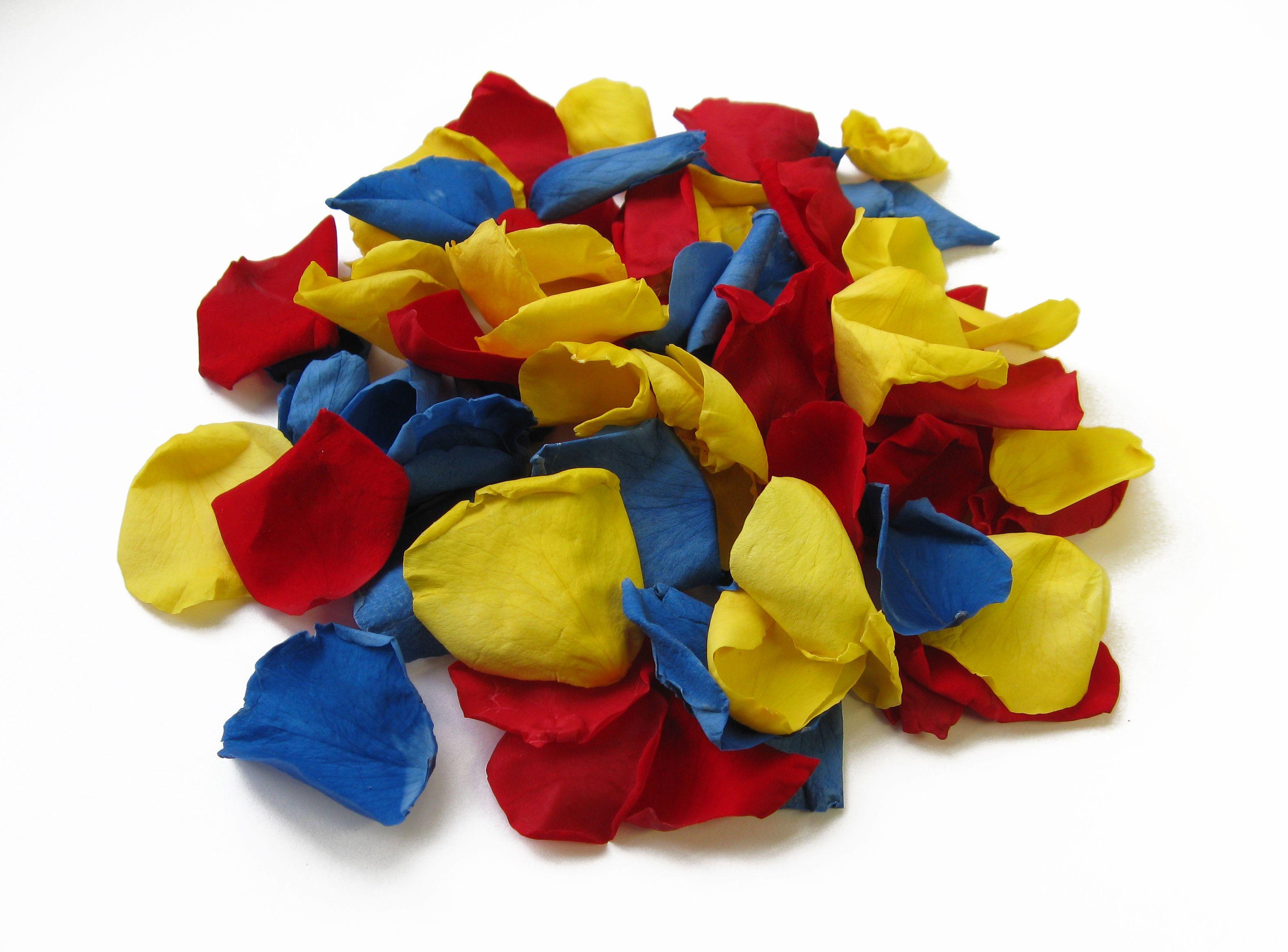 Primary coloured confetti - great for kids!