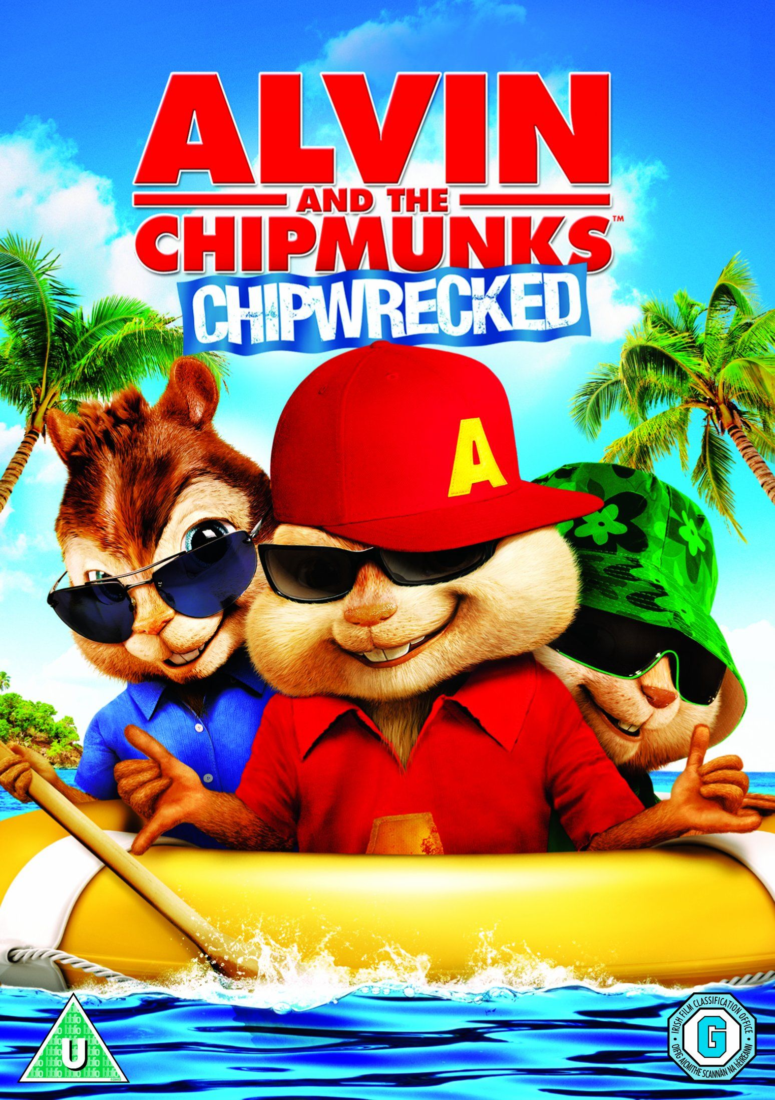 Alvin And The Chipmunks Chipwrecked Dvd 2012 Alvin And The