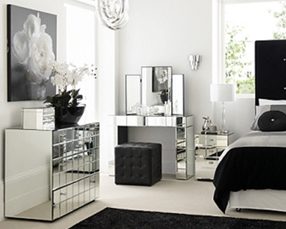 Beautiful Mirrored Bedroom Furniture - http://www.timpyworks.com ...