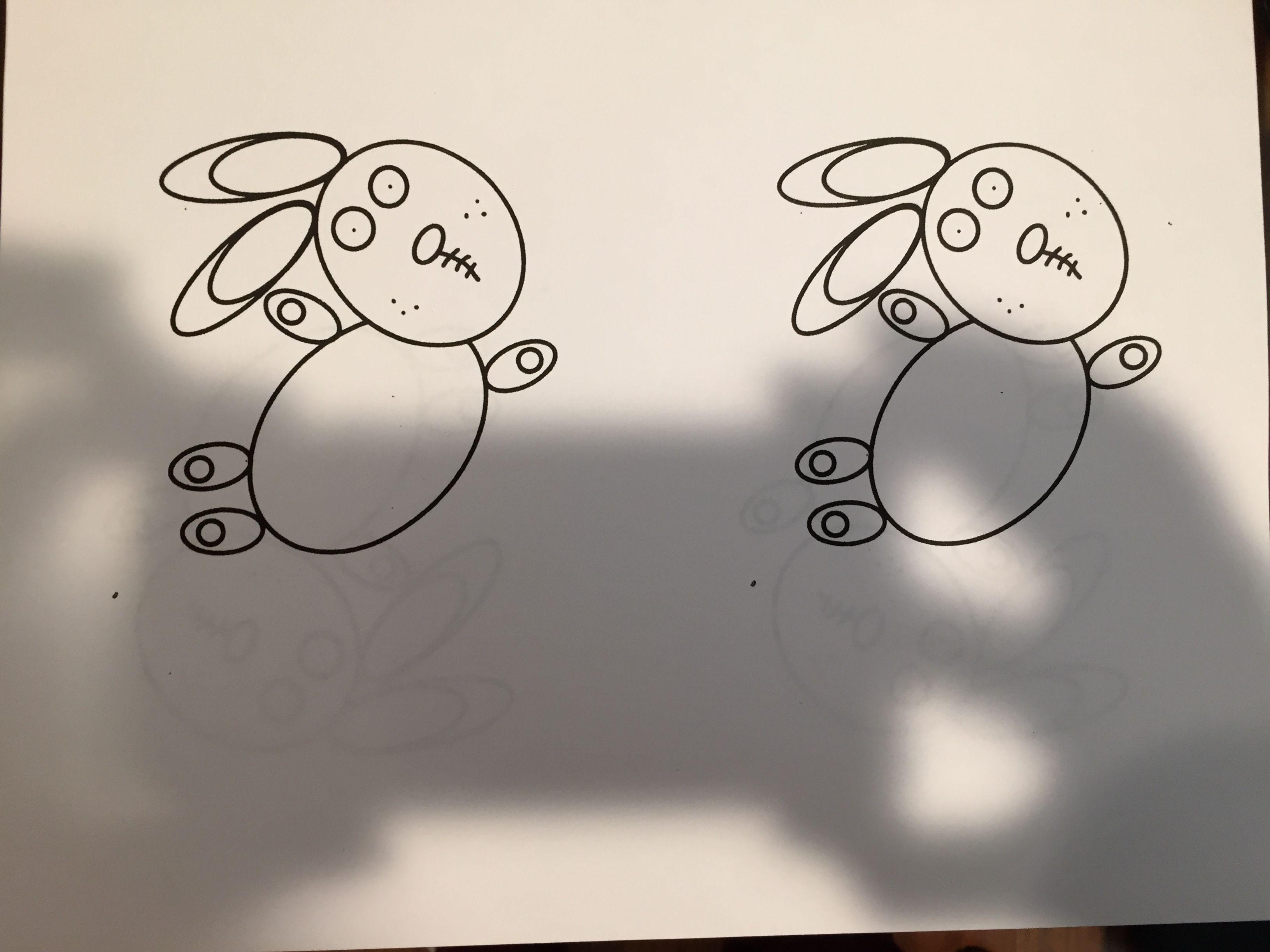 Template for knuffle bunny activity. | Knuffle Bunny | Pinterest ...