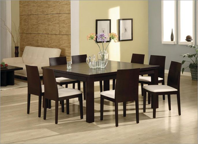 Breathtaking Square Formal Dining Table For 8 Formal Dining Room