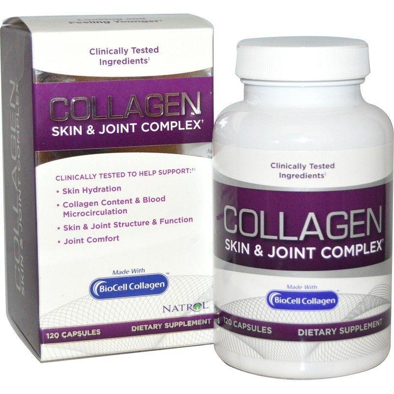 Buy Natrol, Collagen Skin & Joint Complex, 120 Capsules