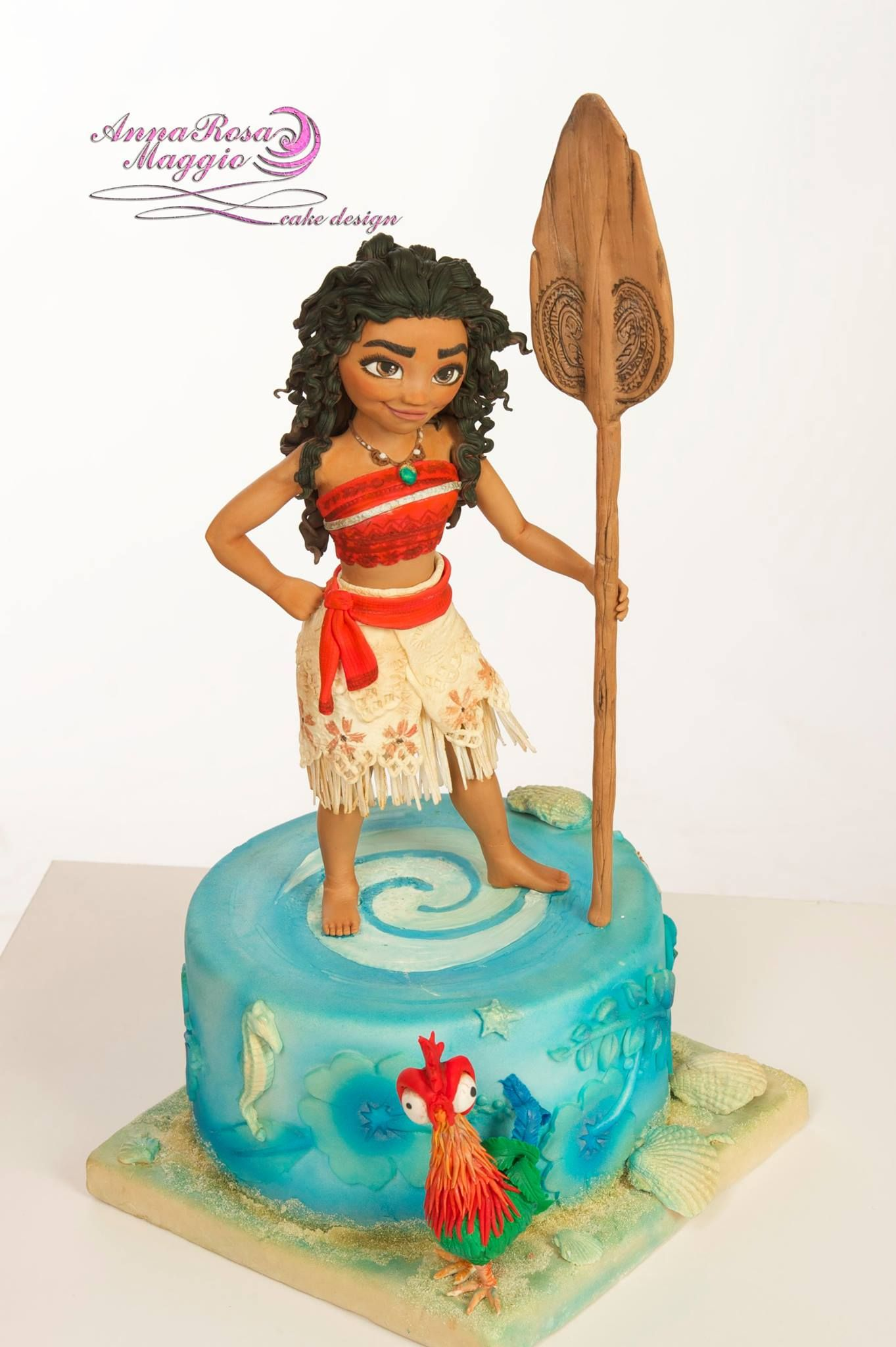 anna rosa maggio cakes disney pinterest moana cake and cake designs. Black Bedroom Furniture Sets. Home Design Ideas